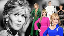 Jane Fonda style file: The 81-year-old actress' best fashion moments