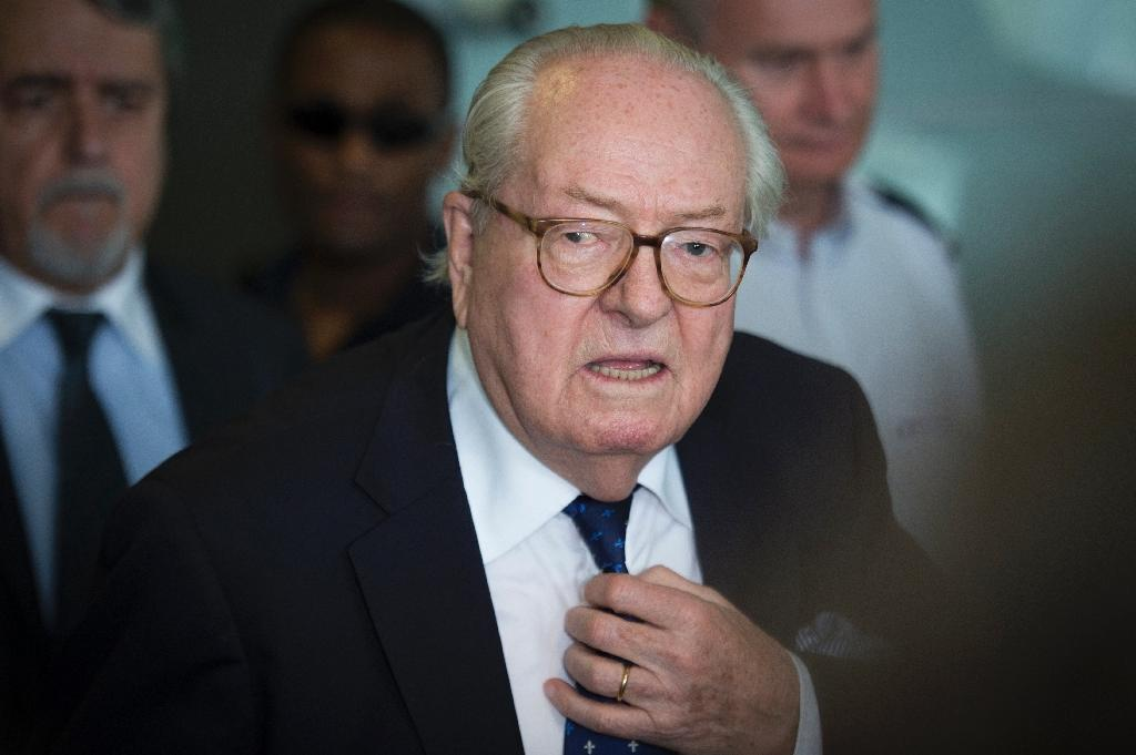 France's National Front founder Jean-Marie Le Pen was suspended from the far-right group following a highly public row with daughter Marine, the party leader
