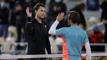 Roland-Garros (H) - Roland-Garros: la défaite héroïque d'Hugo Gaston face à Dominic Thiem en images