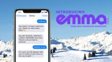 Emma, the World's First Digital Mountain Assistant, Announces Her Debut at Nine World-Class Ski Resorts