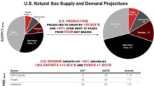 US Natural Gas Demand Is Expected to Grow 40% in Ten Years