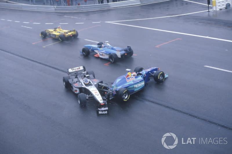 1998 Belgian GP : When the Schumachers went to war