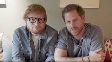 Prince Harry and Ed Sheeran bond over being redheads in World Mental Health Day video: 'Gingers unite'