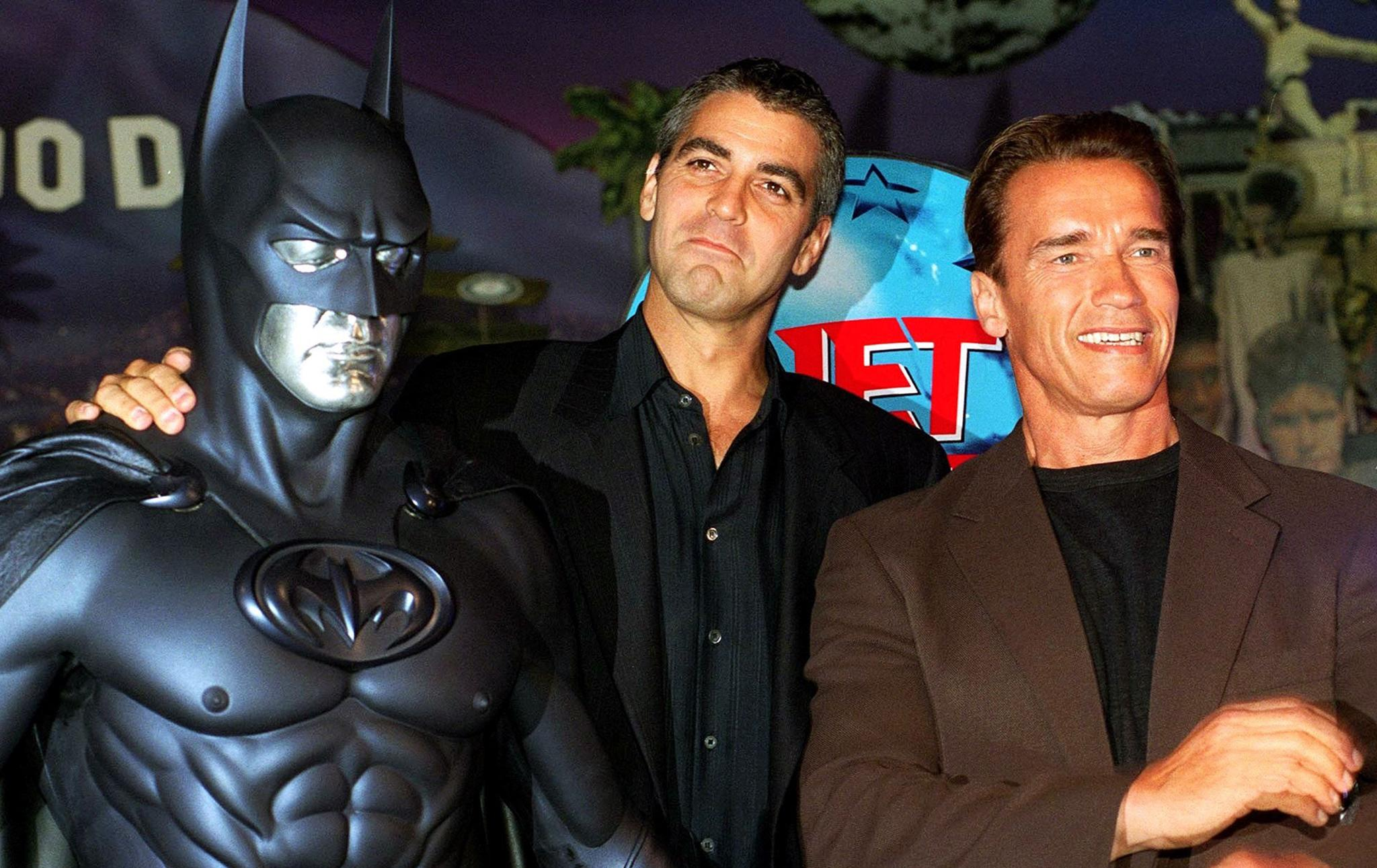 How George Clooney Inspired Arnold Schwarzenegger To Get His Own Pig