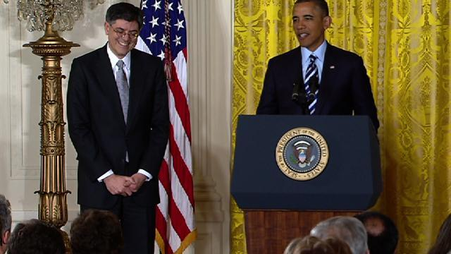 Obama jokes Lew will change signature so as