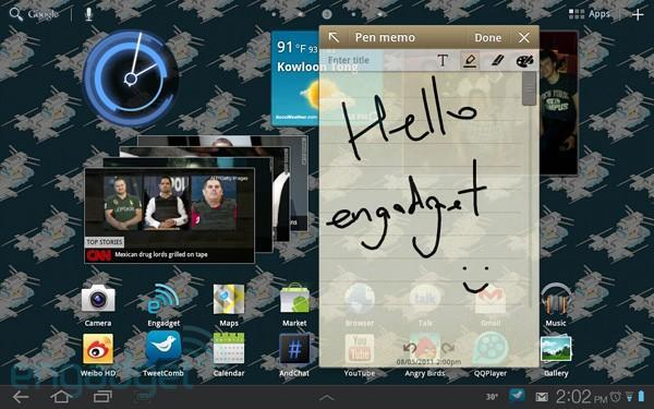 OTA TouchWiz update comes to Samsung's Galaxy Tab 10.1 right on schedule