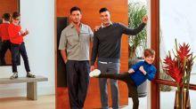 Ricky Martin compartió por primera vez una foto junto a su esposo y sus cuatro hijos