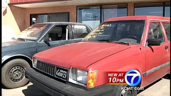 Car used in Breaking Bad for sale in NM