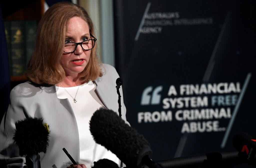 AUSTRAC chief Nicole Rose said the Commonwealth Bank settlement was a strong message to Australia's financial industry (AFP Photo/William WEST)