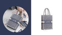 敲碗新配色來了:Dior 這枚人氣 Book Tote,添了藍色波卡圓點的新成員!