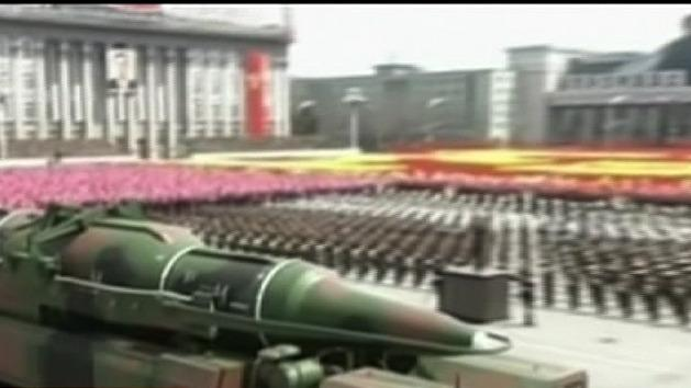 North Korea 'launching missiles'