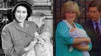 Royal Family: Then and Now