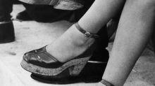 Inventée sous l'occupation, la chaussure à plateforme signe son retour