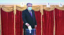 L'homme fort du Tadjikistan réélu avec 90% des voix