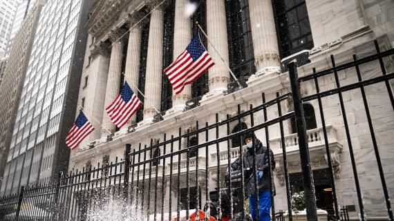 Stocks mixed as rate fears rise after strong jobs report