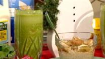 Green Monster Smoothie, Oatmeal 2 Ways
