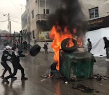 Jerusalem row ignites Beirut violence as protesters clash with police outside US embassy