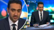 Waleed Aly lost for words after father's heartbreaking interview