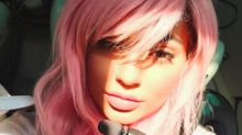 Kylie Jenner Breaks Own Hair Rules By Going Pink
