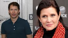James Blunt considers himself 'very lucky' to have known 'incredibly inspirational' Carrie Fisher