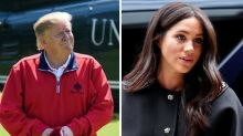 Donald Trump won't be meeting Meghan during royal visit