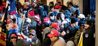Military, police links are eyed in Capitol riot
