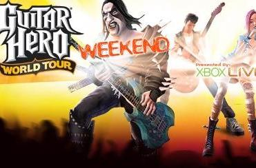 Rock out to a Guitar Hero World Tour Weekend