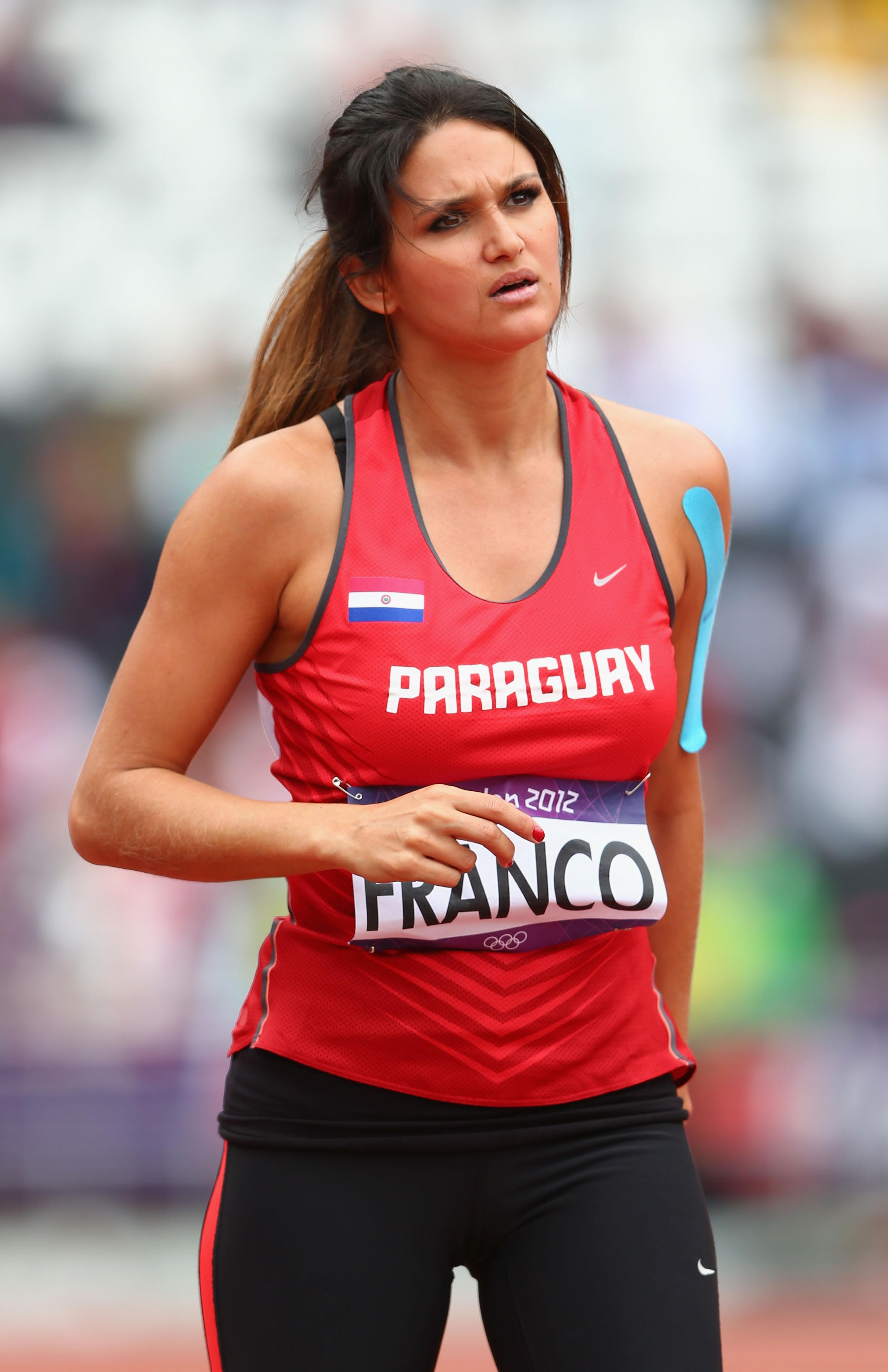 Olympic crush: Javelin thrower Leryn Franco