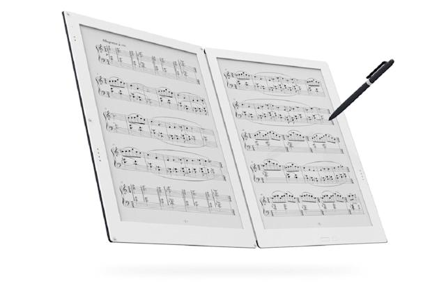 Would you pay $1,600 to replace your sheet music with a tablet?