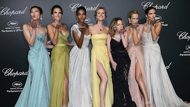 This Cannes Party Was Basically a Supermodel Convention!
