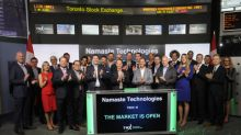 Namaste Technologies Inc. Opens the Market