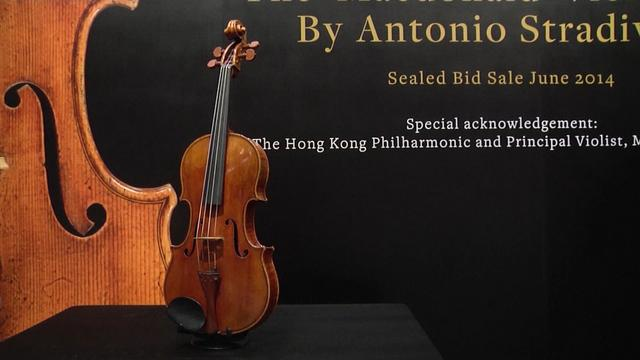 Rare Stradivarius viola expected to fetch $45M at auction