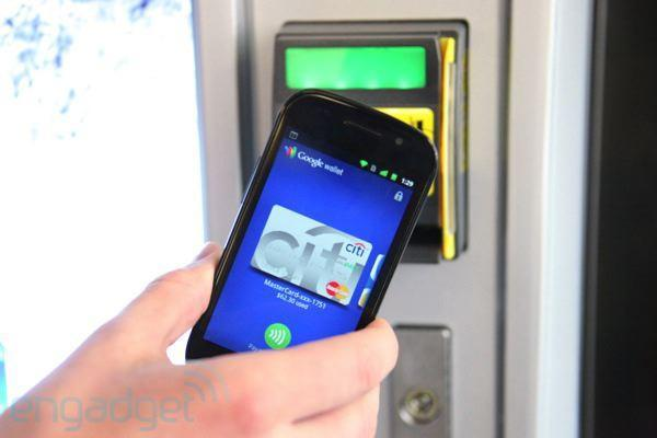 Google Wallet vending on Nexus S hands-on