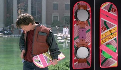 Back to the Future hoverboard up for auction: $30k to play