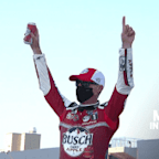 Harvick in Michigan Victory Lane: 'Awesome car to drive'