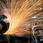 China's factory-gate prices surge, but CPI growth still modest