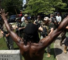Far-Right Militia, Pro-Confederacy Groups, Anti-Facists Face Off in Tense Stone Mountain Protest