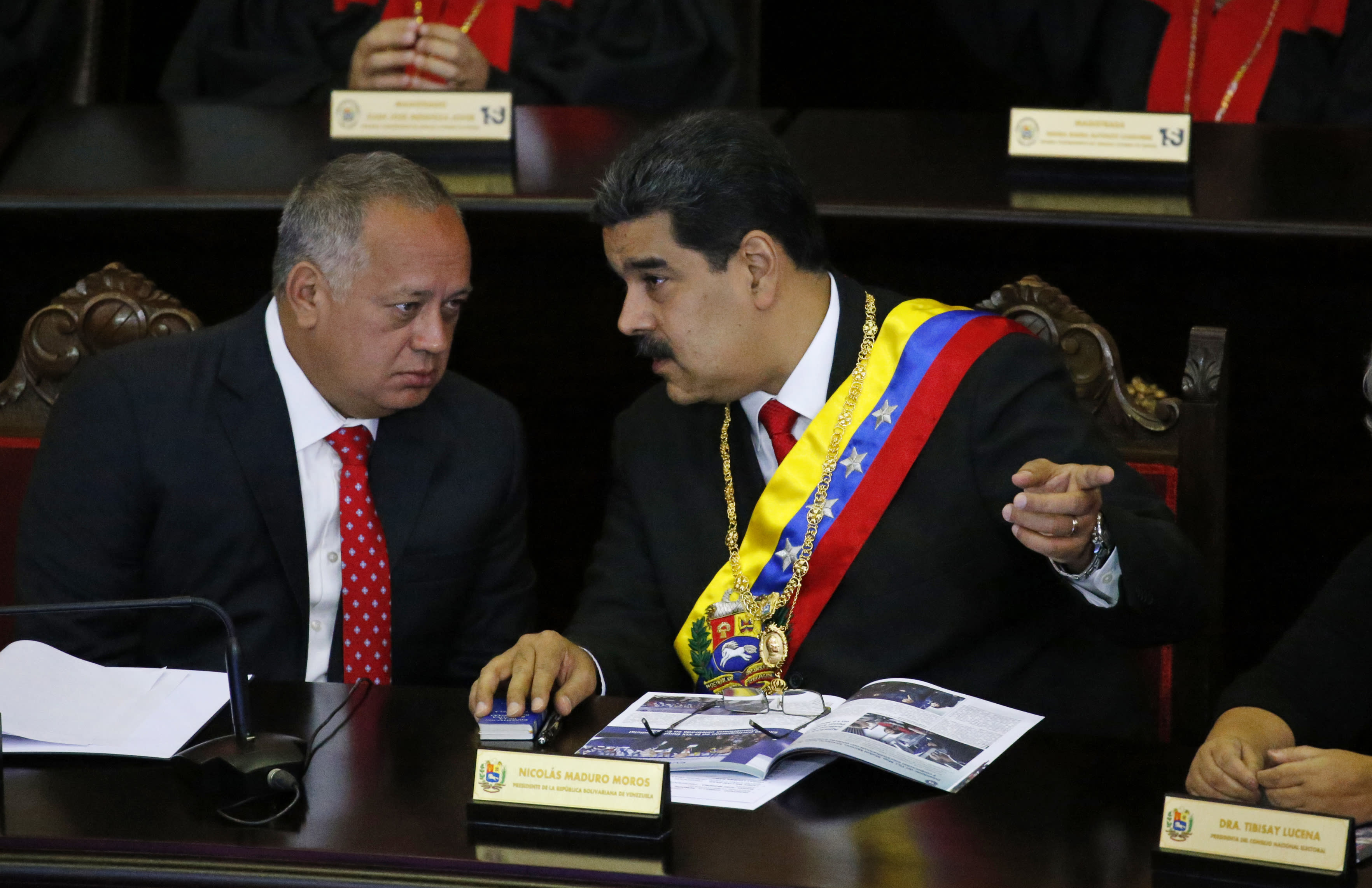 USA talks secretly to Venezuela socialist boss