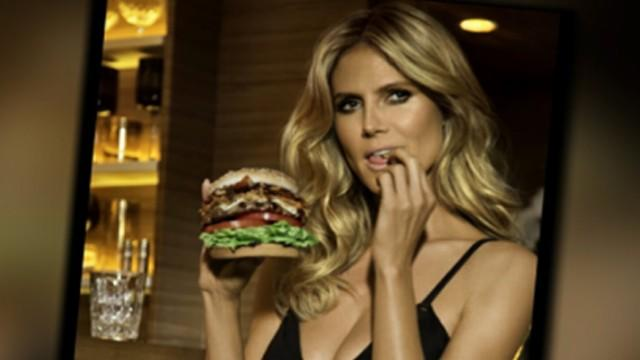Heidi Klum Carl's Jr. Commercial Spoofs 'The Graduate'