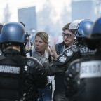 Paris police repeatedly use tear gas on day of protests