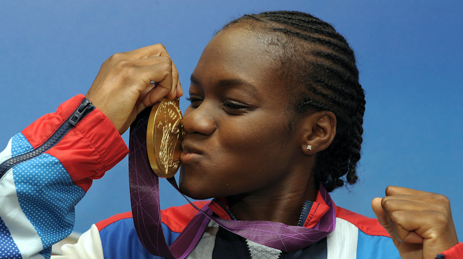Picture of the day – Nicola Adams is British boxing's golden girl at London 2012