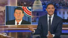 Trevor Noah says Reagan 'monkeys' recording indicates Trump 'is more presidential than we thought'