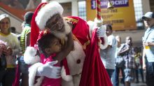These 17 Photos Show Santas Spreading Joy Around The World