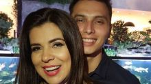 Mara Maravilha posa com noivo 22 anos mais jovem: 'Felicidade'