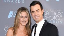 Jennifer Aniston and Justin Theroux's Dog Eats Their Valentine's Day Flowers