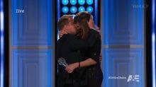 Allison Janney Lays Passionate Kiss on James Corden
