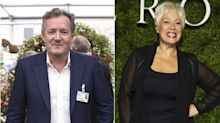 Piers Morgan and Denise Welch in bitter Twitter exchange over the coronavirus pandemic