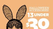 13 Under $30: Halloween Accessories