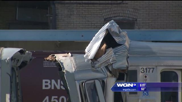 Safety precautions being taken after CTA train collision