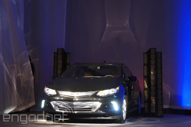 Take a look at the new Chevy Volt